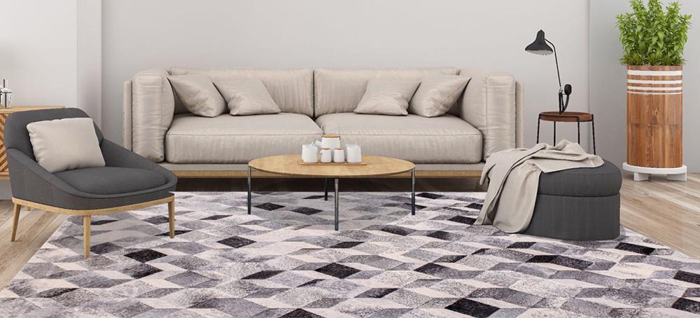 拉斐爾超柔加厚機織地毯