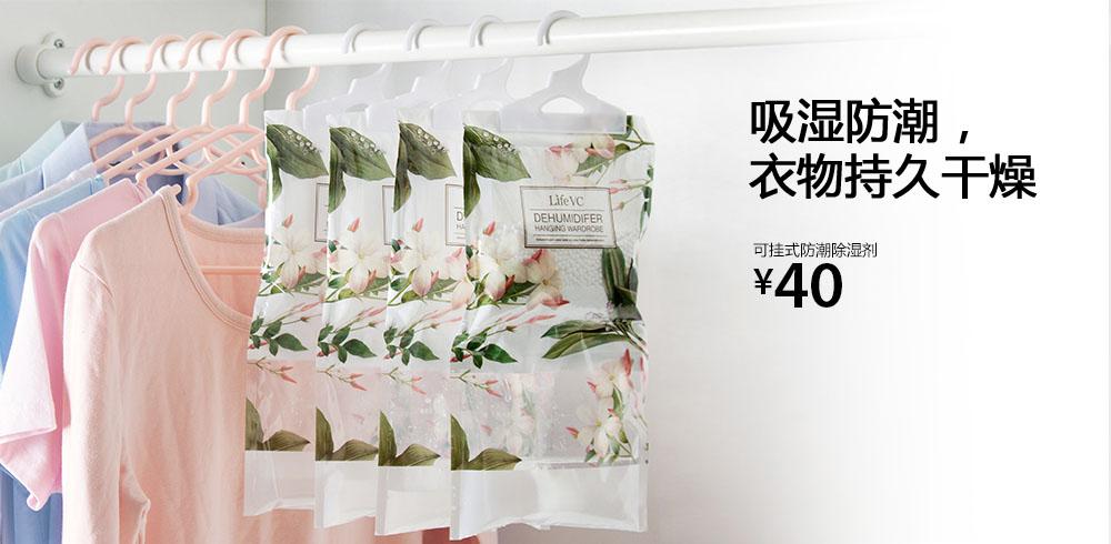 可挂式防潮除湿剂(2袋装)